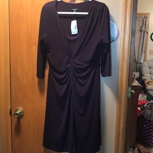 Women's purple Dress NWT size XL